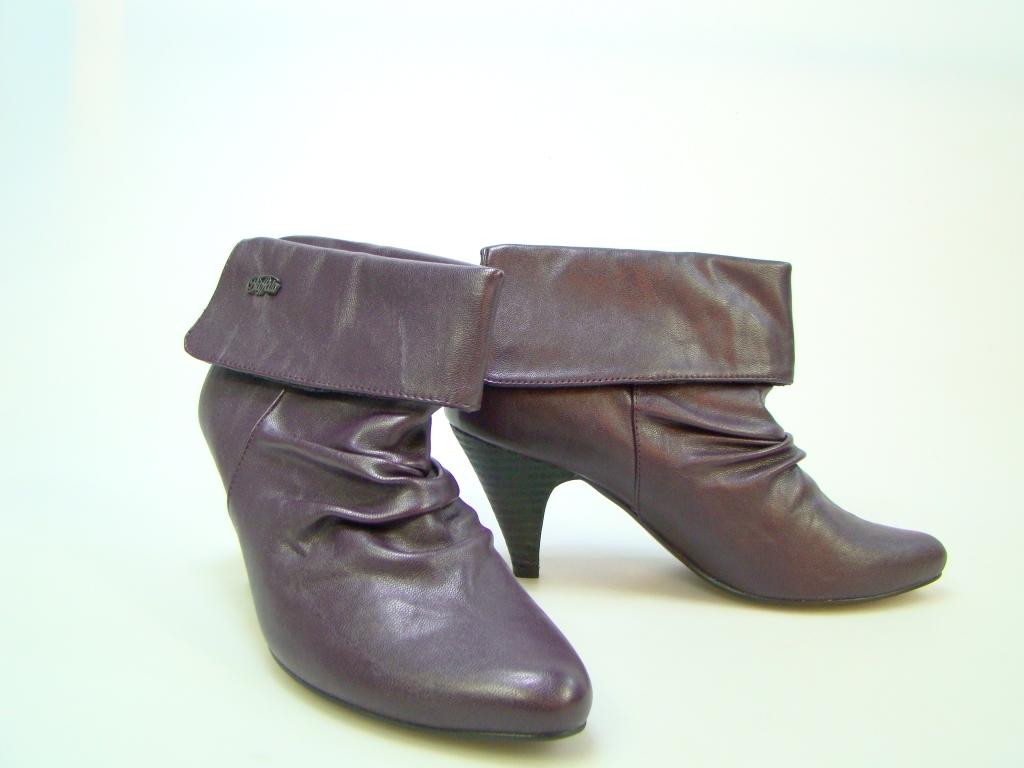 buffalo stiefel stiefelette ankle boot 5833 lila 38 neu ebay. Black Bedroom Furniture Sets. Home Design Ideas